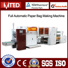 Supermarket Recycled Paper Bag Making Machine