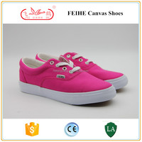 lady lace up japanese canvas shoes