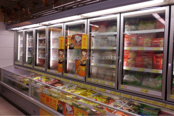 Combination display freezer