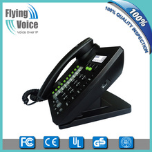 Standard business pbx voip phone voip telecom phone business voip solutions phone with HD voice IP622C