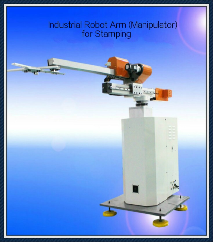 indstrial 4 axis robot arm in machinery