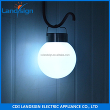 cixi landsign XLTD-P5003 gardeners eden solar powered garden light outdoor hanging ball light