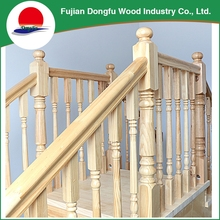 Custom Cheap Modern Outdoor Pin Decorate Wooden Stair , Modern Luxury Stair Case