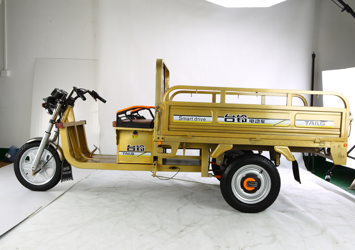 2015 dongguan tailg battery operated motorcycle truck 3-wheel tricycle for sale