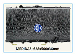 Aluminum brazed welding auto radiator car for MITSUBISHI MONTERO97/04