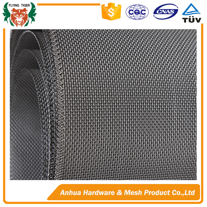 SS 304 316 stainless steel plain woven wire mesh price per meter