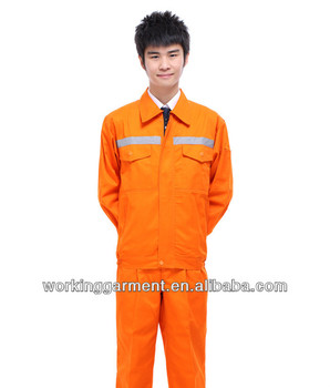 2013 hot sell and new design safety work wear fabric
