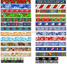 DIY design dog collar's webbing dye sublimation nylon or polyester webbing