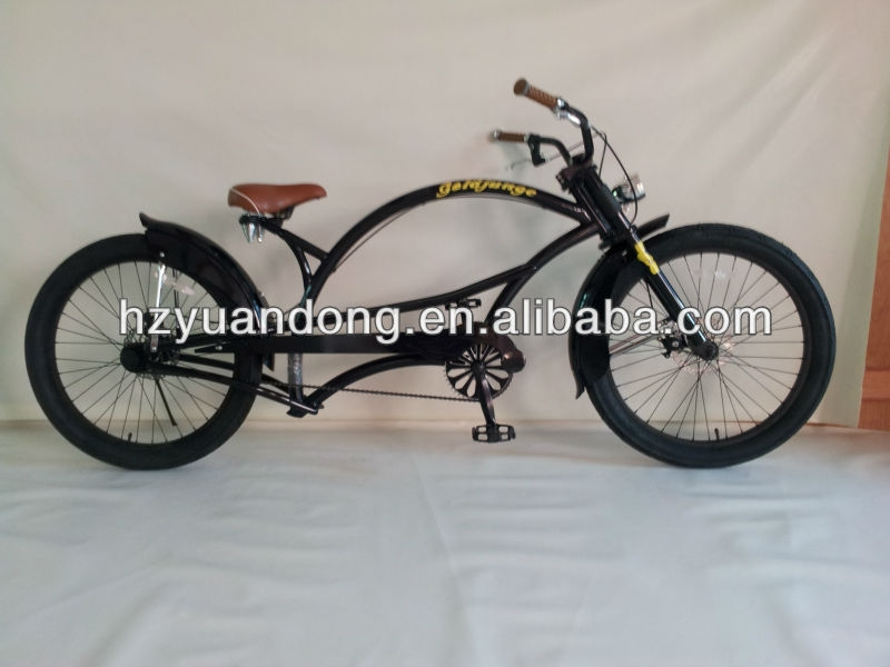 24'' customized chopper cruiser single speed beach cruiser men's bicycle bike