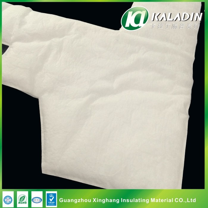 Stamping White Fiber Cotton Eco - friendly Soundproofing Material