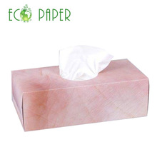 High Quality Import Square Flat Box Facial Tissue 200sheets