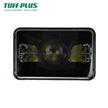 Update version DOT 4x6 inch square high low beam  truck led headlight