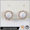 New Afro pearl fake gemstone earrings dropship jewelry