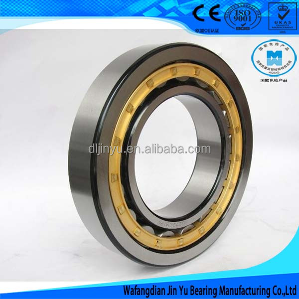 Industrial package Lubricated cylindrical roller bearing NU222Q1 with good heat treatment