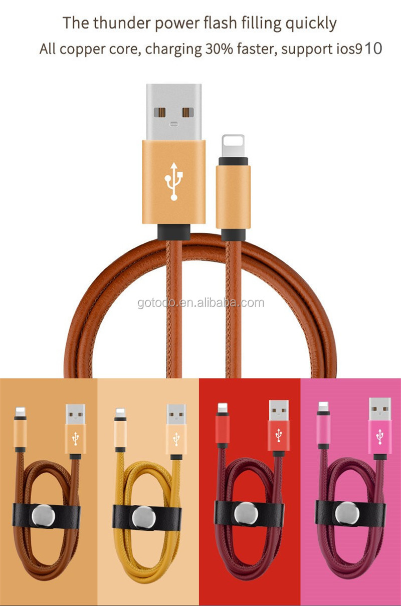 custom color 1m Data transfer & Charging Micro USB Cable for mobile phone