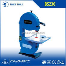 350W Electric Used Wood Cutting Band Saw With Instalation Saw Blade