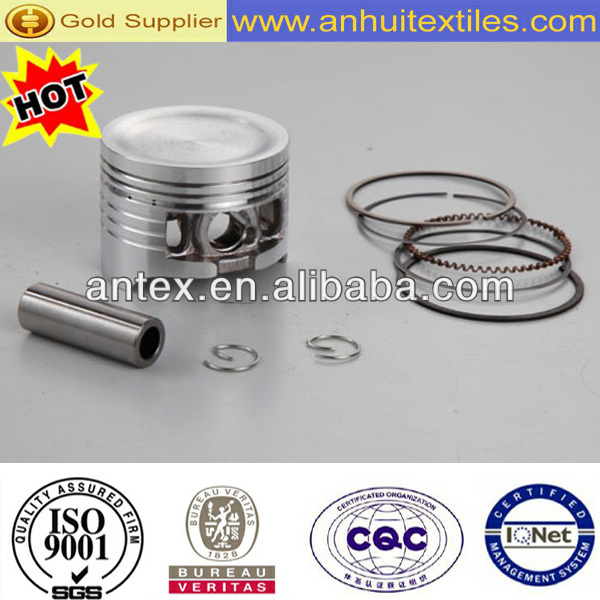 Hot sale high quality motorcycle piston kit for WAVE125 motorcycle parts motorcycle piston