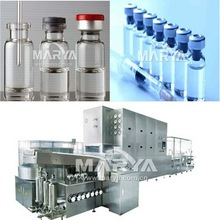 vial ampoule washing sterilizing filling sealing machine