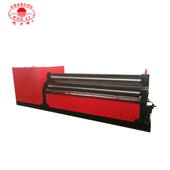 W11 8X2500 3 roller Specification plate roll bending machine drawing machine sheet metal bead roller /Plate Rolling Machine