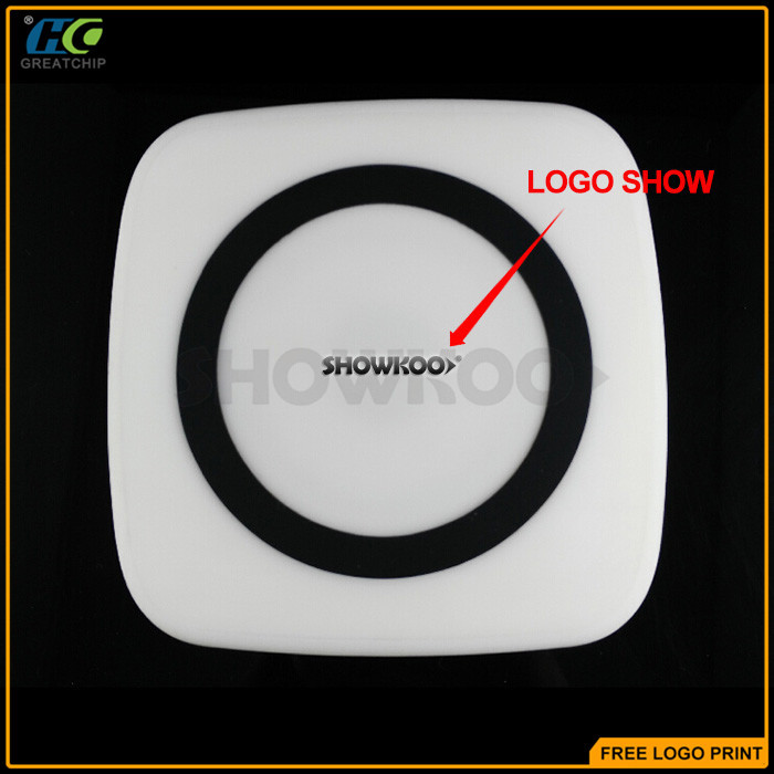 Showkoo new product QI wireless charger for mobile phone
