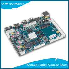 Hot Sale Android Quad Core Digital Signage Board with Rockchip RK3288 CPU and Multiple Interface