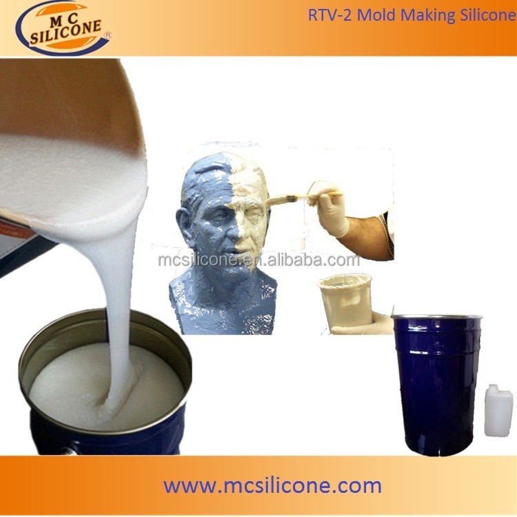 Brushable Moldable RTV-2 Mould Making Liquid Silicone Rubber