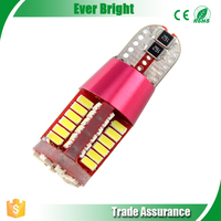 T10 CAN Bus No Error LED Light For Turn Signal Light Side Marker Lights Bulb Dashboard Light 12V