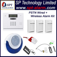 CP-11A L05 PSTN wireless wired self monitoring alarm system 2015 Hot Wholesale kit