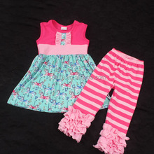 SUE LUCKY new style horse designs dress and stripes icing pants wholesale new york used clothing