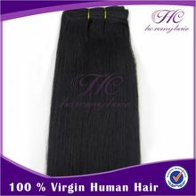 Environmental friendly combodian remy virgin weave human hair straight