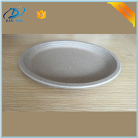 wholesale disposable paper pulp food/salad lunch container plate