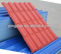 Alibaba PVC roofing materials spanish tile for villa