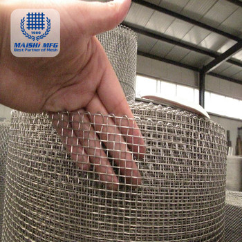 High Quality High Precision Stainless Steel Woven Wire Mesh Cloth