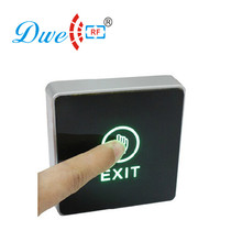 Two Color LED Light Infrared Touch Exit Button NO/NC/CM Push Button Switch For Access Control