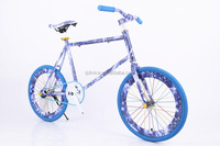 "Colorful design 20"" carbon frame road bicycle for children"