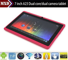 Android 7 inch tablet pc wifi front and back camera 512M/4G mid 5 points capacitive screen ultra slim tablet