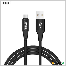 Wholesale 3ft / 6ft / 10ft cusomized nylon braided micro usb cable for android from China gold supplier