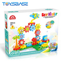 DIY Educational Gear Bricks Game Toys Giant Plastic Building Blocks