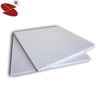 Wooden shop Decorate Board of Perforted Aluminum Ceiling Tiles