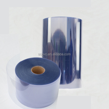 Blue light 0.5mm clear transparent rigid and semi rigid PVC plastics film by Calendering line