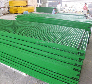 High quality 4x8ft fiberglass flat grating sheet