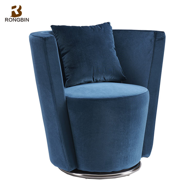New Arrival italian vintage comfortable single seater sofa chair chinese classic relax sofa design armchair