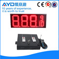 Hidly 12 Inch Red Electronic LED Gas Price Board