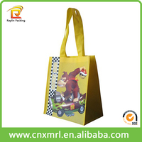 2015 Top Quality Recyclable Non Woven Bag Monkey Non Woven Bag