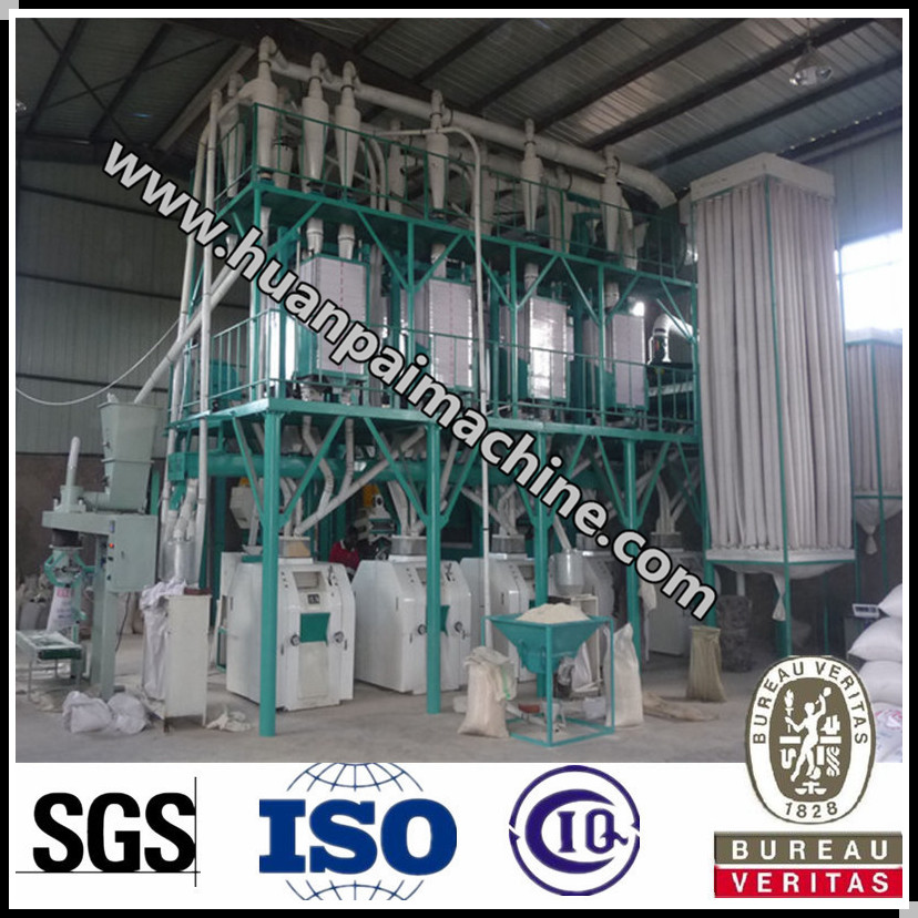 high quality maize milling machine wheat flour mill plant with low price