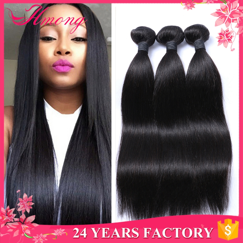 Raw Brazilian Hair Straight Human Hair Weave Sensational Hair Weave