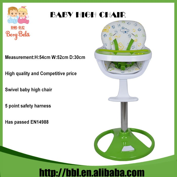 Hot Sales Stability Modern Lifting Height High Chairs That Strap To Chair