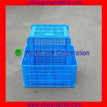 Storage Transportation Plastic Stacking Vented Fruit Basket