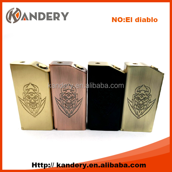 Alibaba express newest arrival el diablo box mod for sale