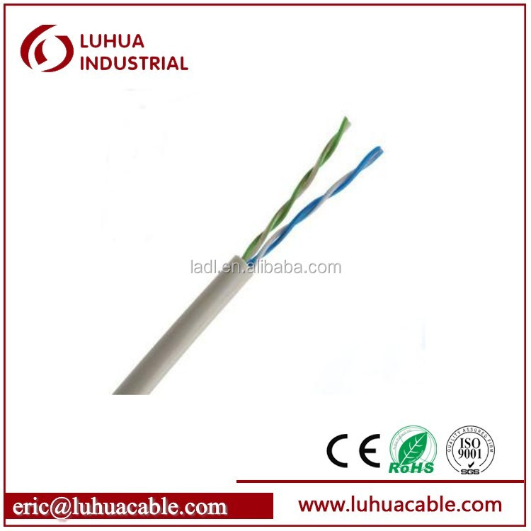 Networking cable Good quality 2 pair utp cat5e cable best price